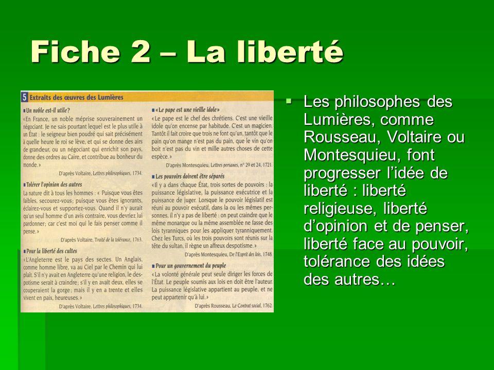 Fiche 2 – La liberté