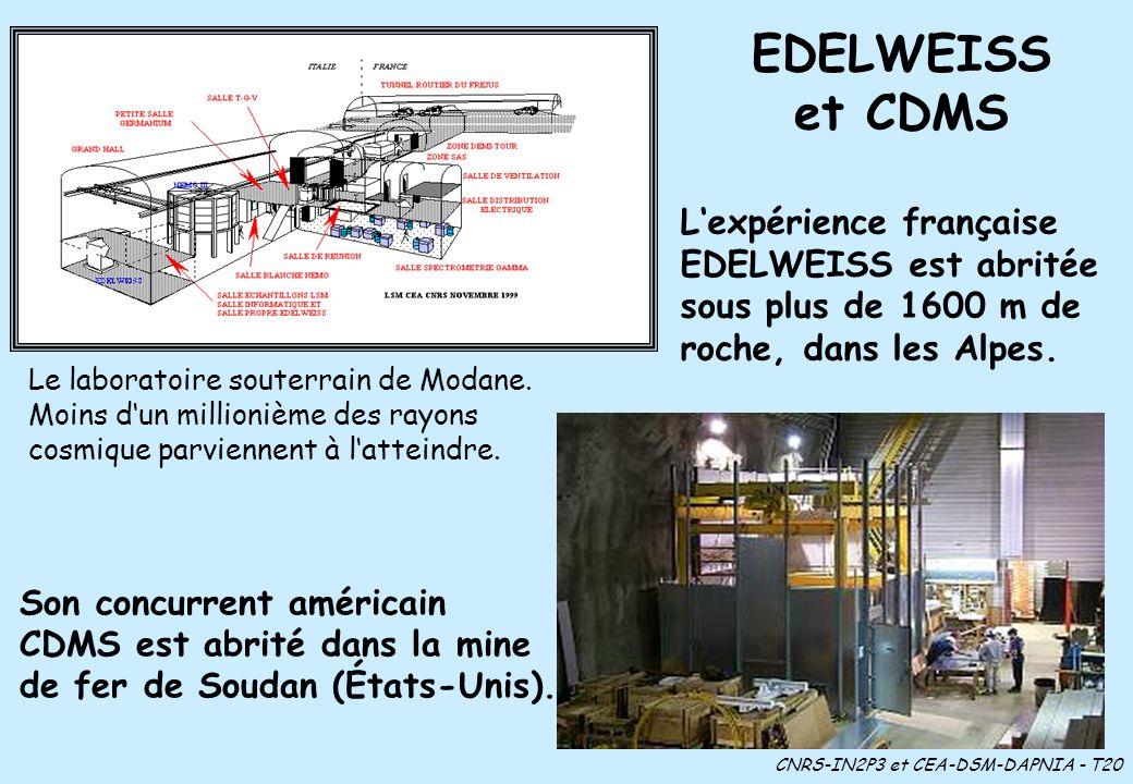 CNRS-IN2P3 et CEA-DSM-DAPNIA - T20