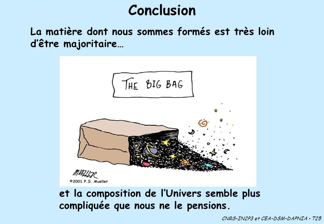 CNRS-IN2P3 et CEA-DSM-DAPNIA - T25