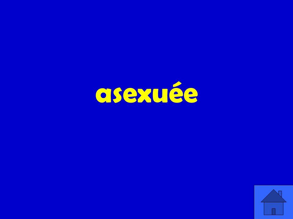 asexuée