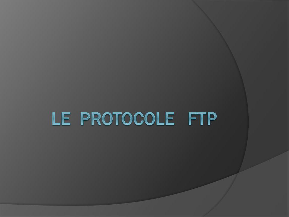 Le protocole FTP