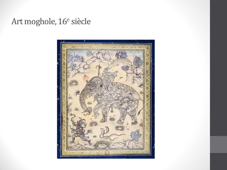 Art moghole, 16e siècle