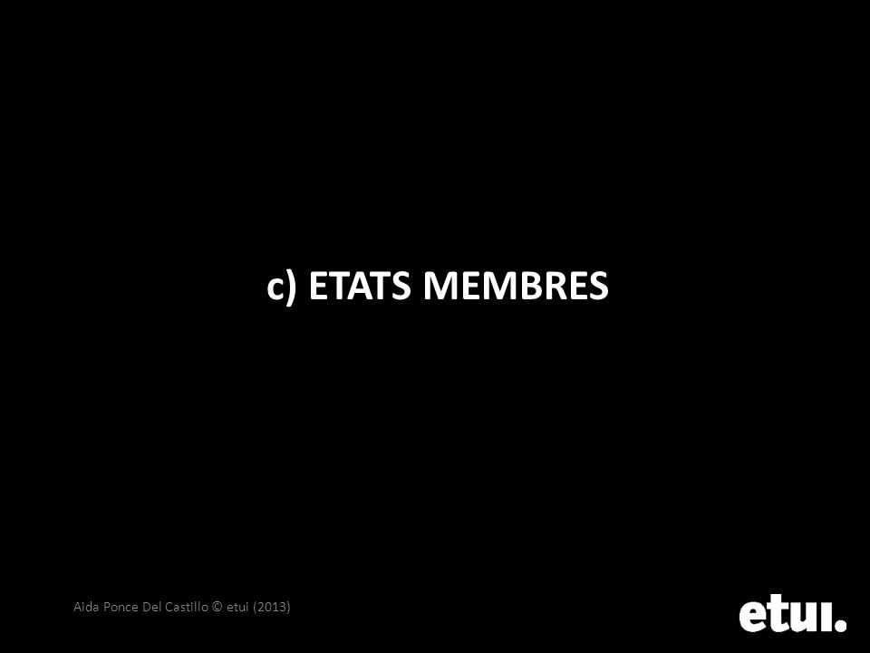 c) ETATS MEMBRES Aida Ponce Del Castillo © etui (2013)