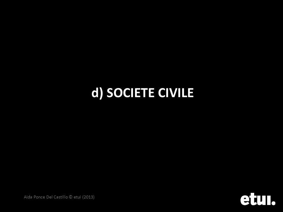 d) SOCIETE CIVILE Aida Ponce Del Castillo © etui (2013)