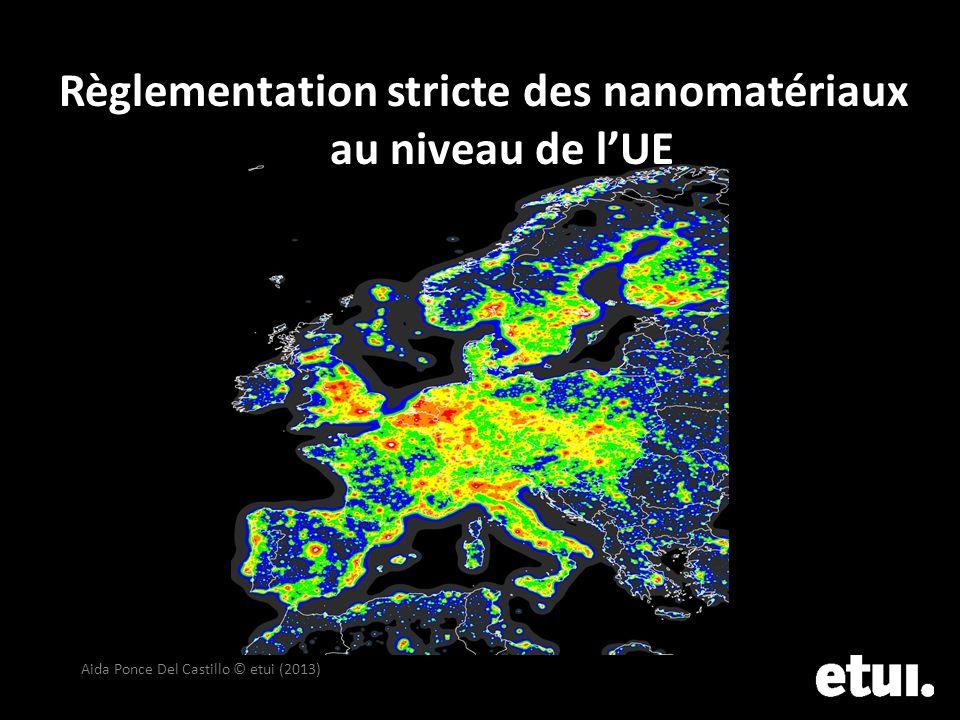 Règlementation stricte des nanomatériaux au niveau de l'UE