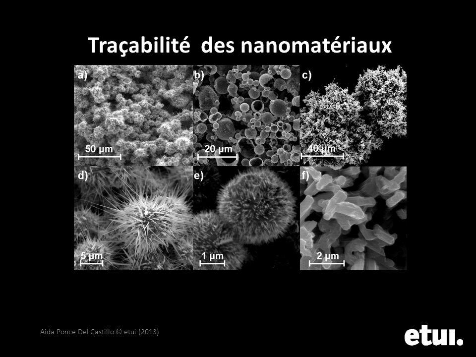 Traçabilité des nanomatériaux