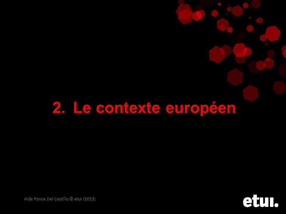 Le contexte européen Aida Ponce Del Castillo © etui (2013)