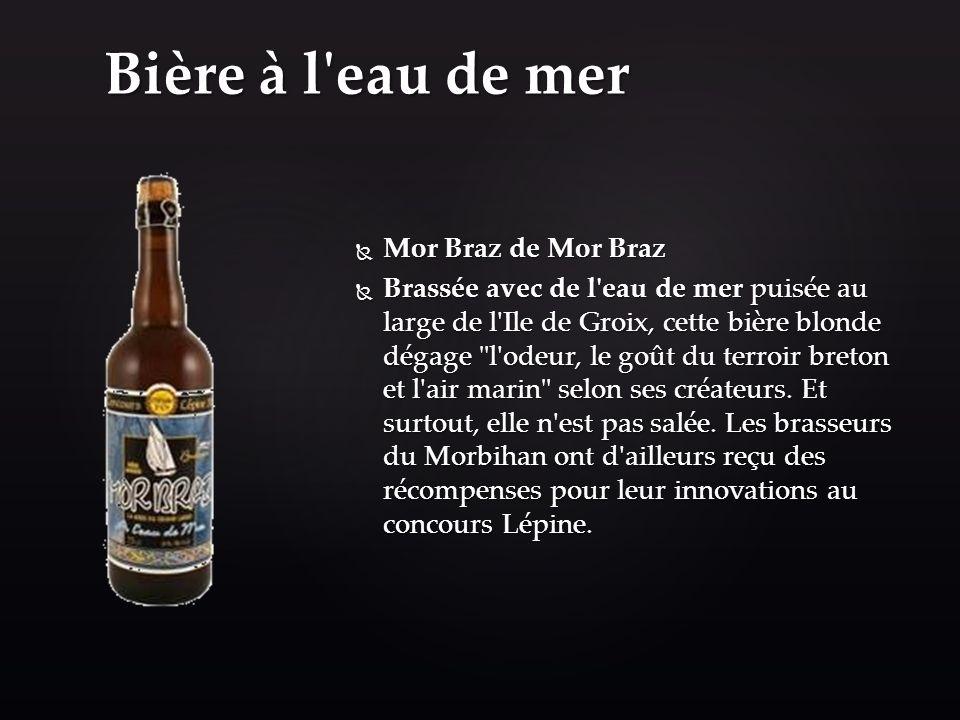 Bière à l eau de mer Mor Braz de Mor Braz
