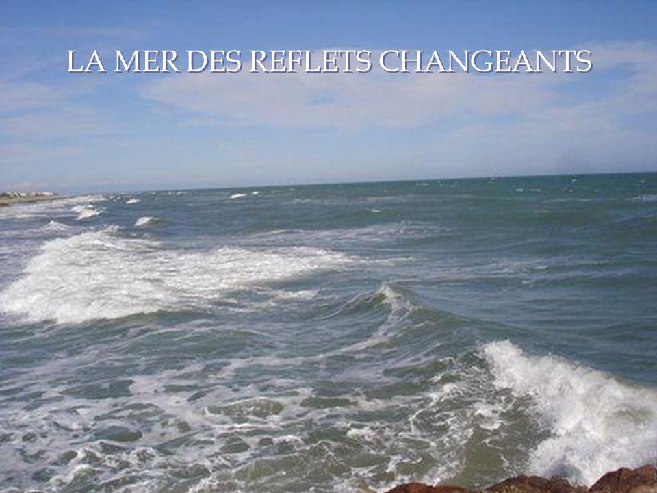 LA MER DES REFLETS CHANGEANTS