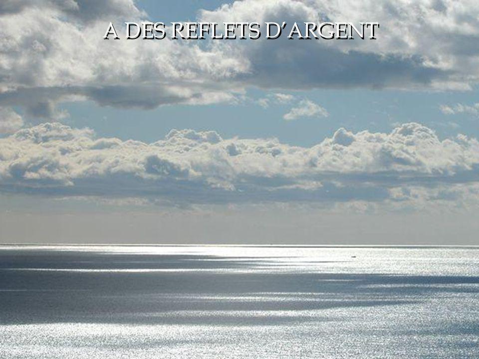 A DES REFLETS D'ARGENT