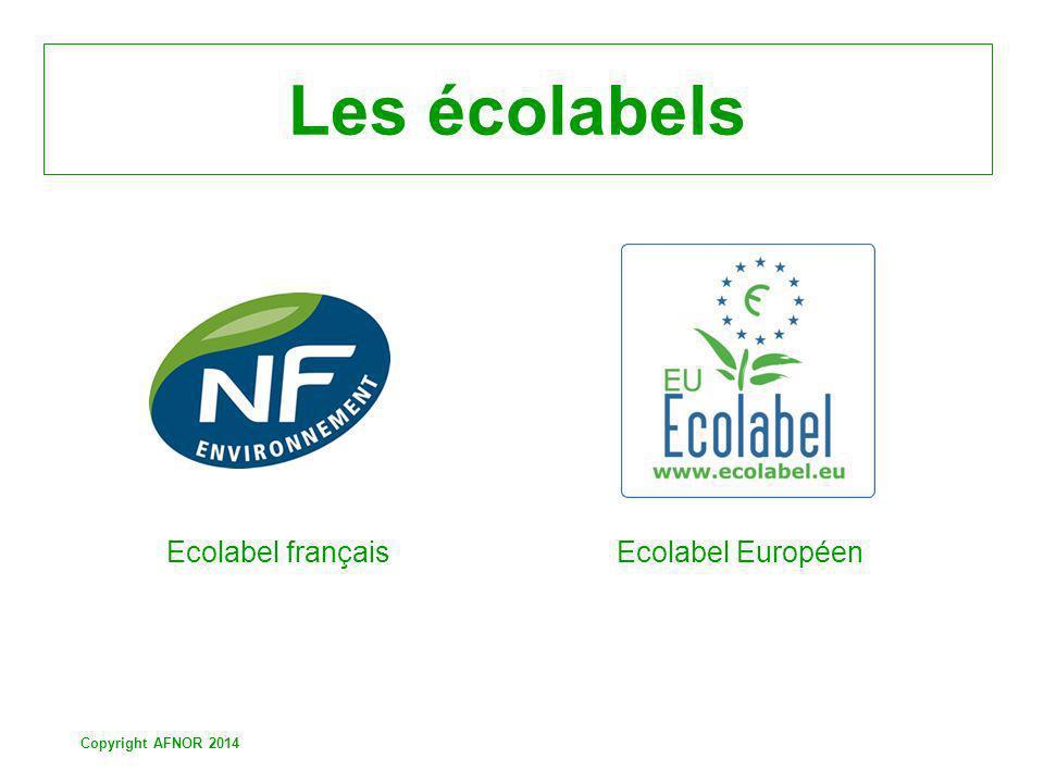 Les écolabels Ecolabel français Ecolabel Européen