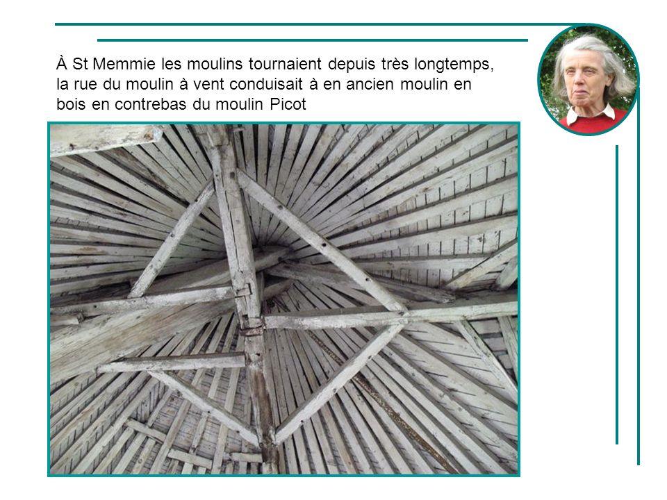 À St Memmie les moulins tournaient depuis très longtemps, la rue du moulin à vent conduisait à en ancien moulin en bois en contrebas du moulin Picot