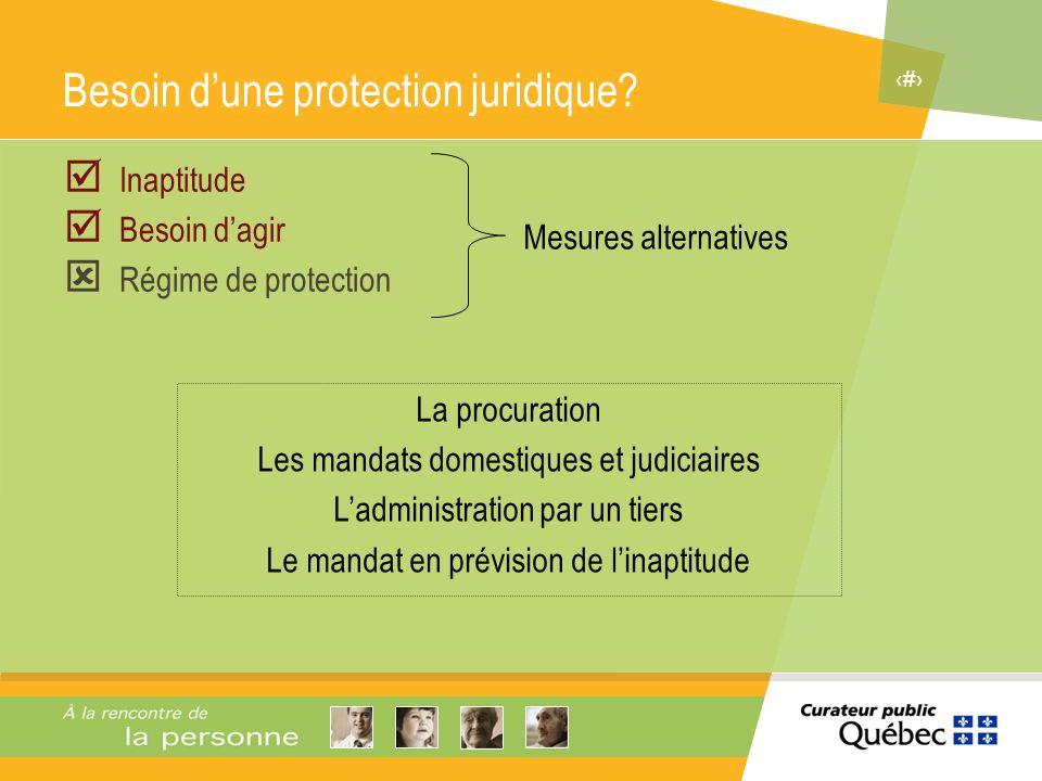 Besoin d'une protection juridique
