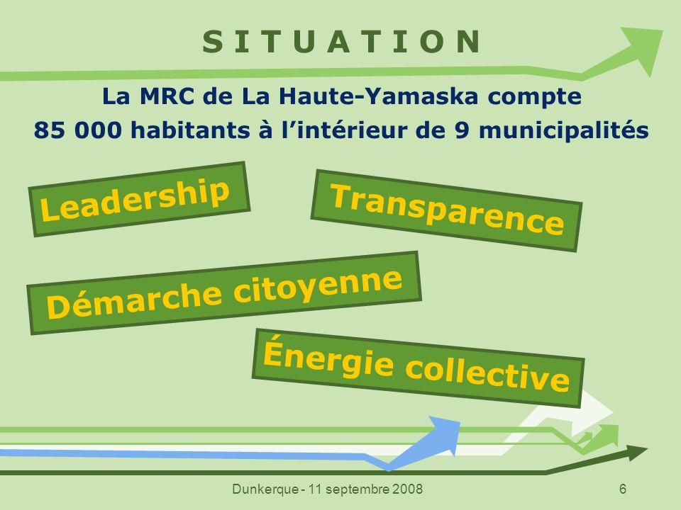 Leadership Transparence Démarche citoyenne Énergie collective