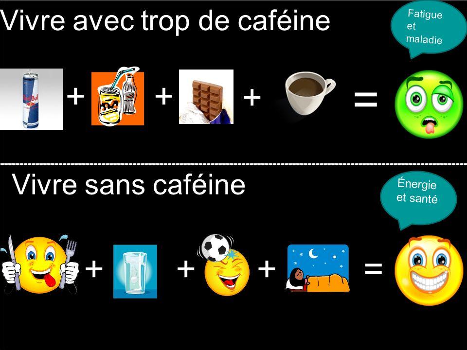 Vivre avec trop de caféine