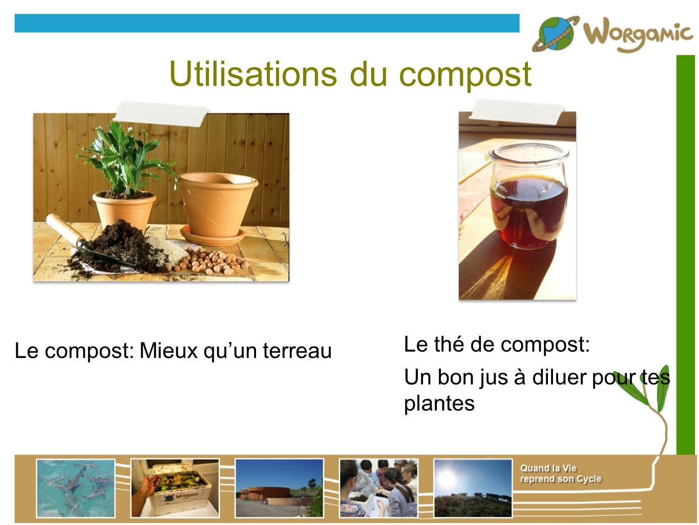 Utilisations du compost