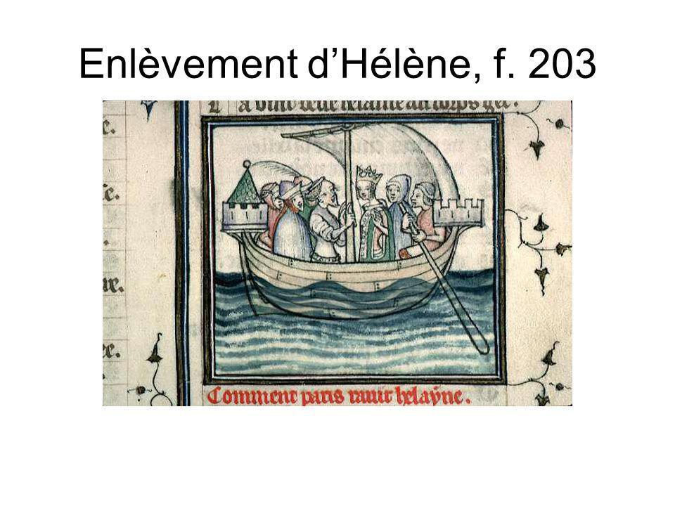 Enlèvement d'Hélène, f. 203
