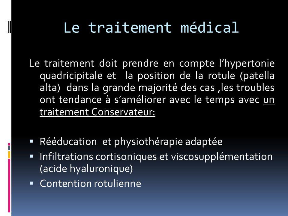 Le traitement médical