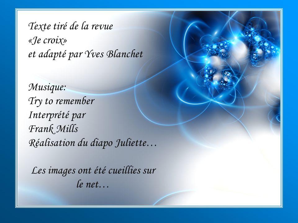 et adapté par Yves Blanchet