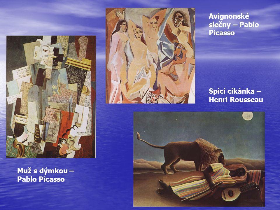 Avignonské slečny – Pablo Picasso