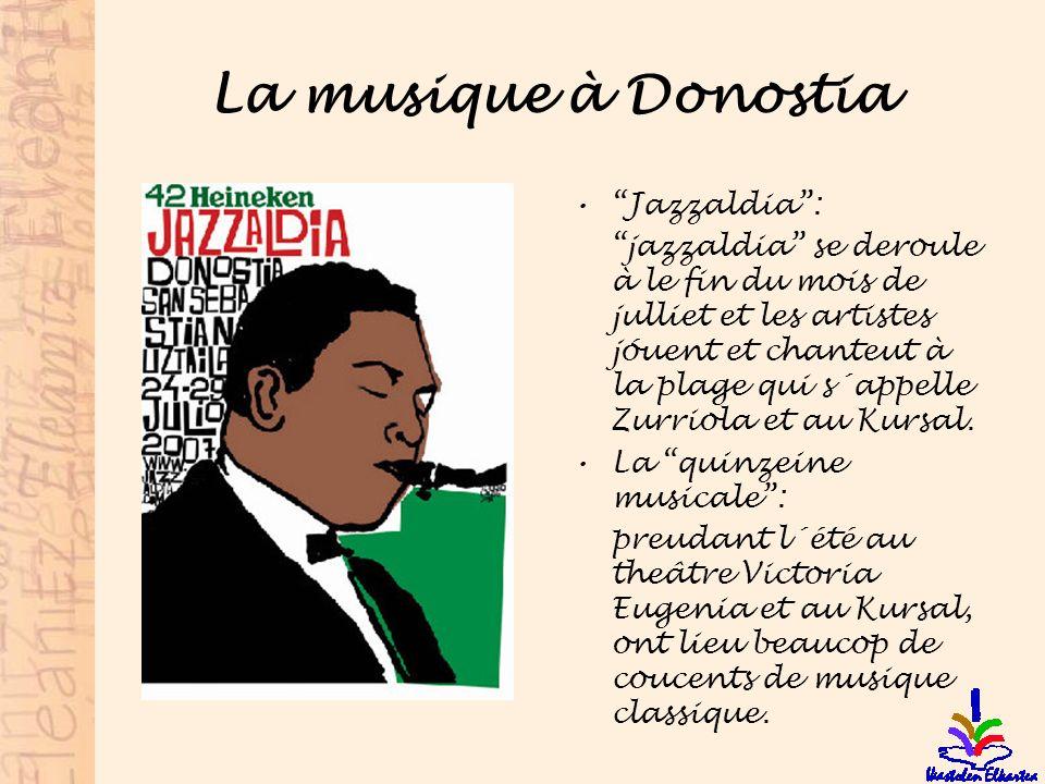 La musique à Donostia Jazzaldia :