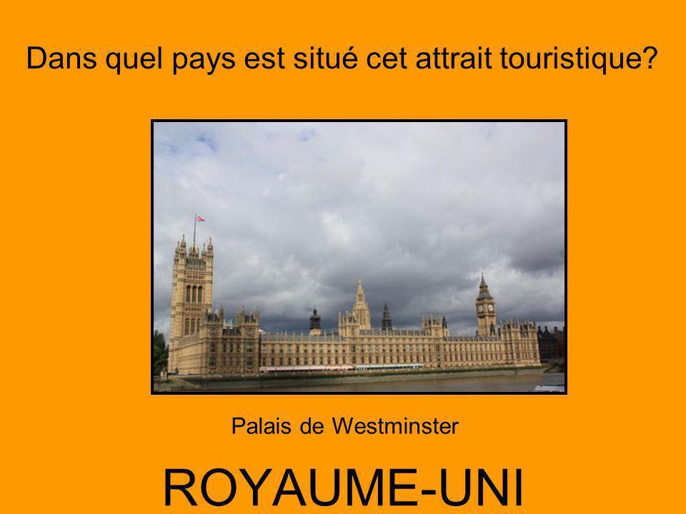 Palais de Westminster ROYAUME-UNI