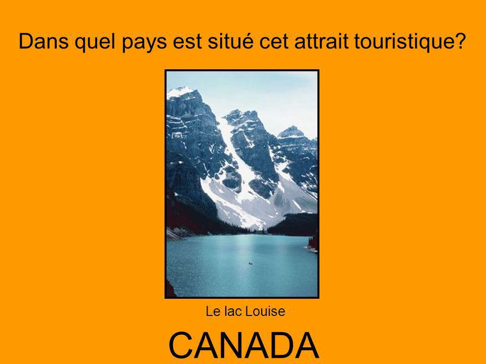 Le lac Louise CANADA