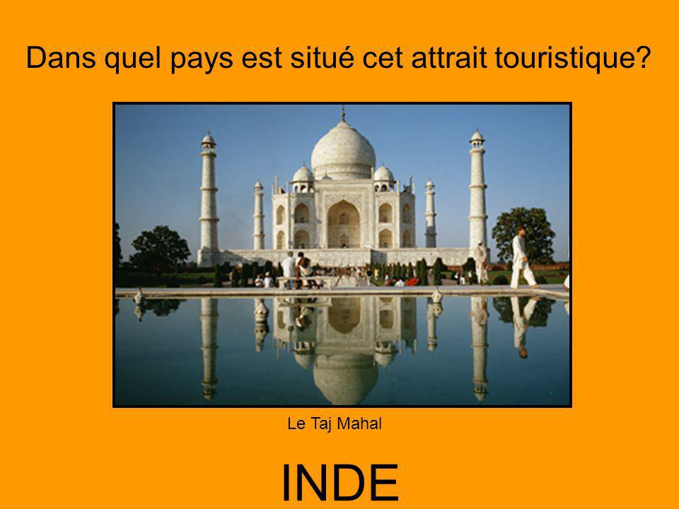 Le Taj Mahal INDE
