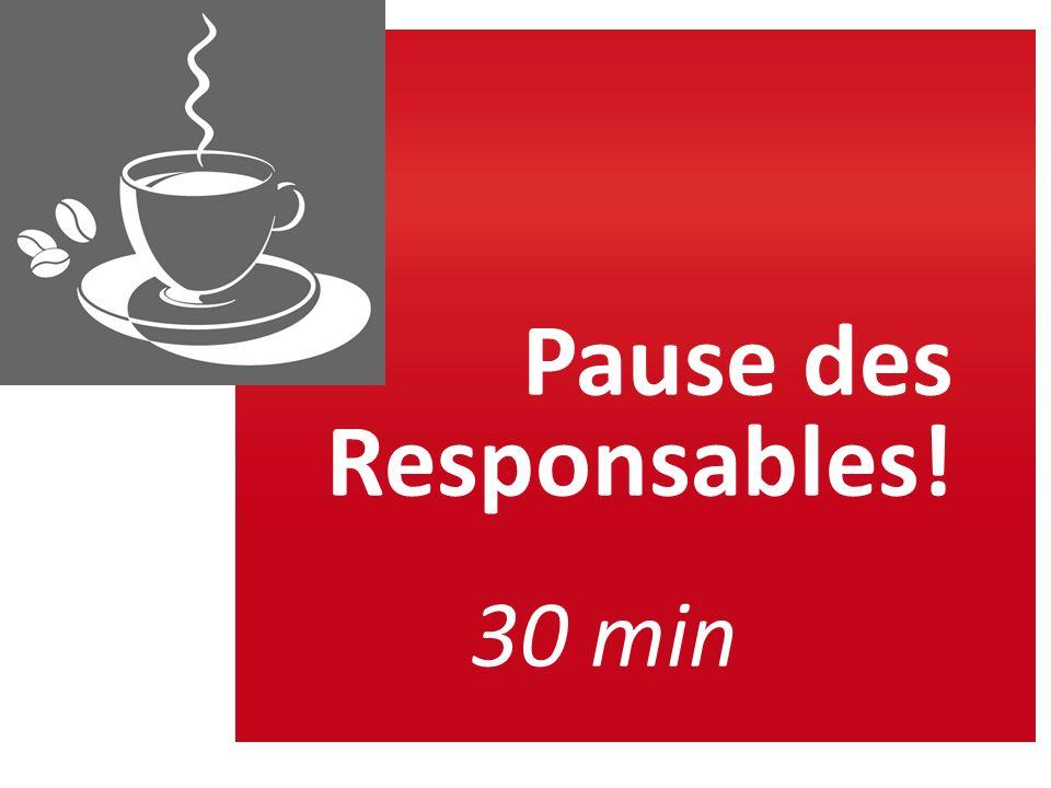 Pause des Responsables!