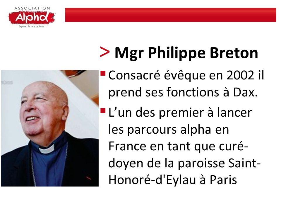 Mgr Philippe Breton Consacré évêque en 2002 il prend ses fonctions à Dax.