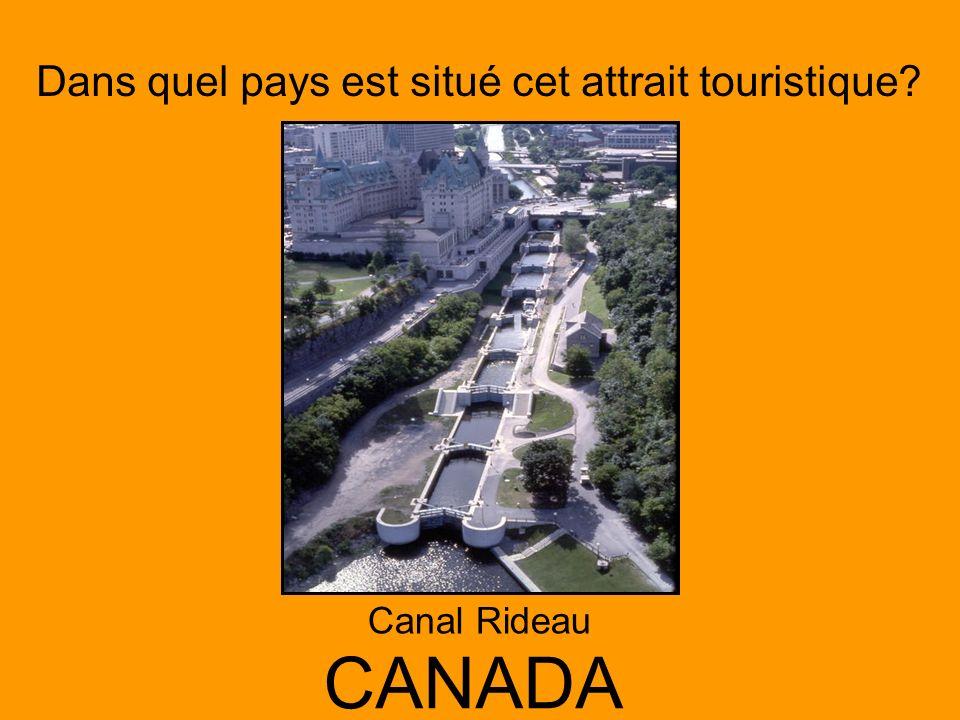 Canal Rideau CANADA