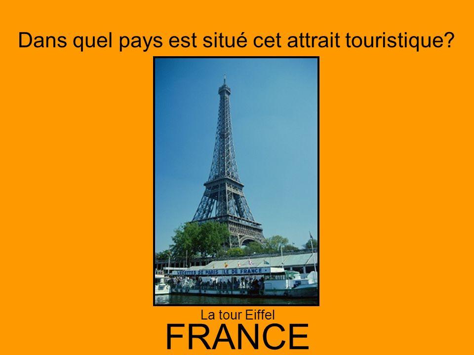La tour Eiffel FRANCE