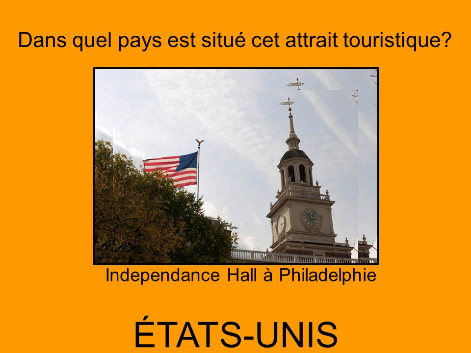 Independance Hall à Philadelphie