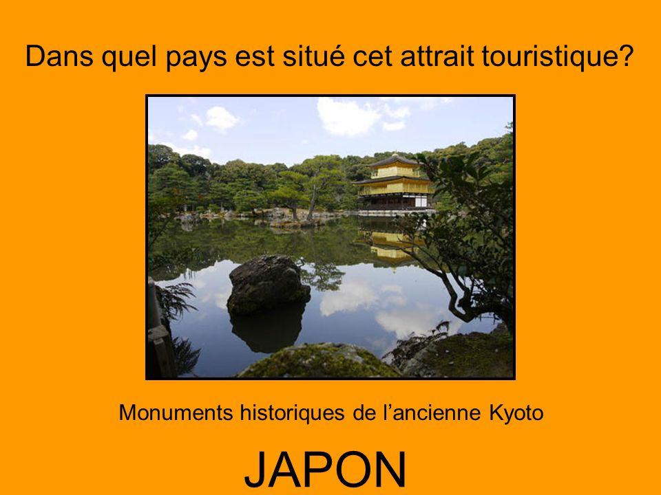 Monuments historiques de l'ancienne Kyoto