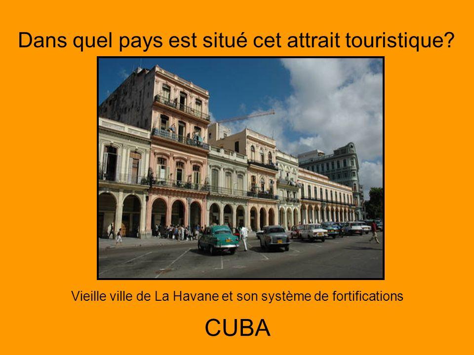 Vieille ville de La Havane et son système de fortifications