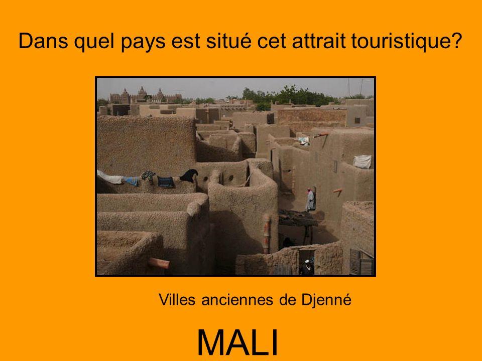 Villes anciennes de Djenné