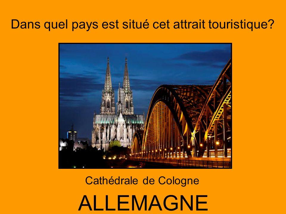 Cathédrale de Cologne ALLEMAGNE