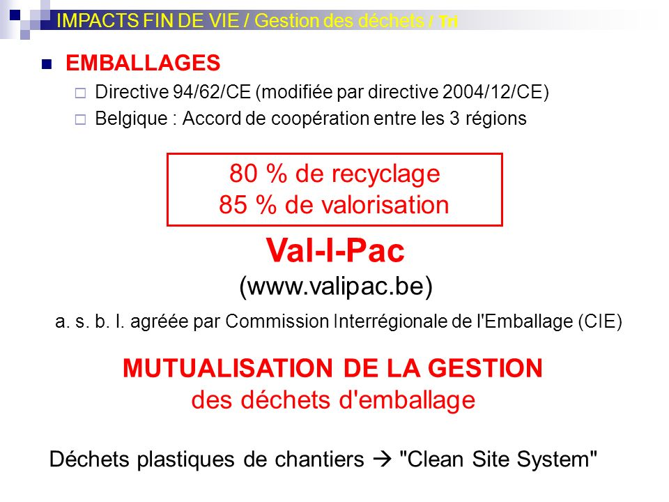 Val-I-Pac (www.valipac.be)