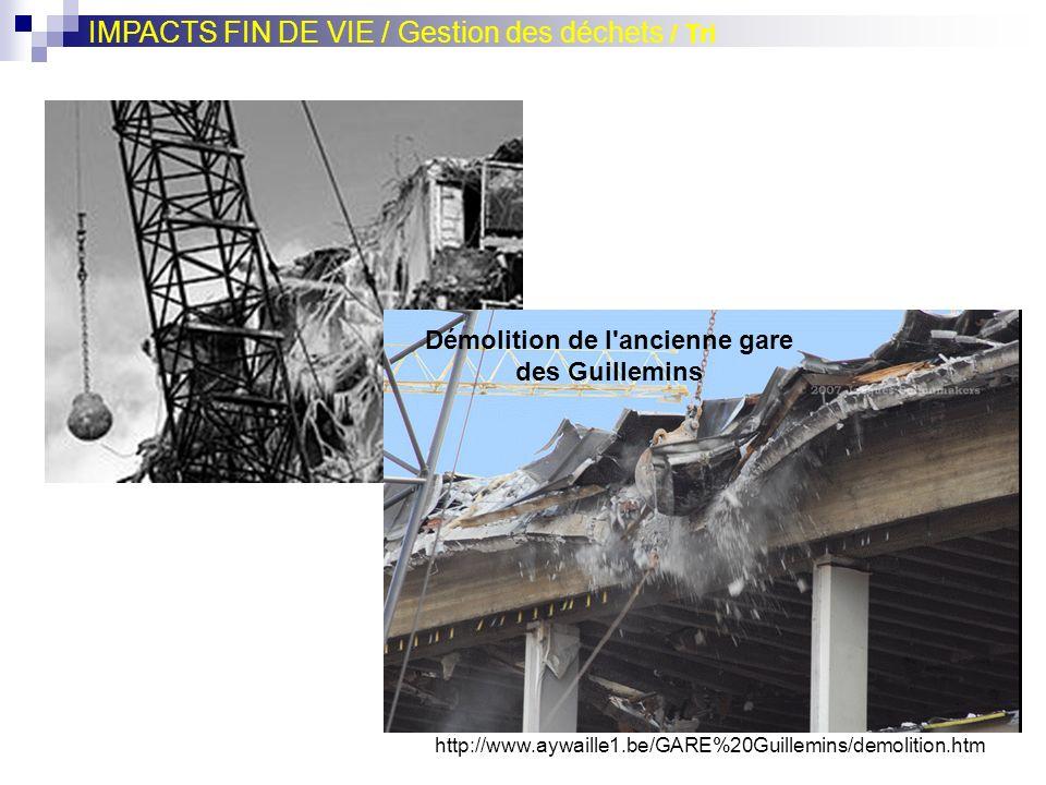 Démolition de l ancienne gare des Guillemins