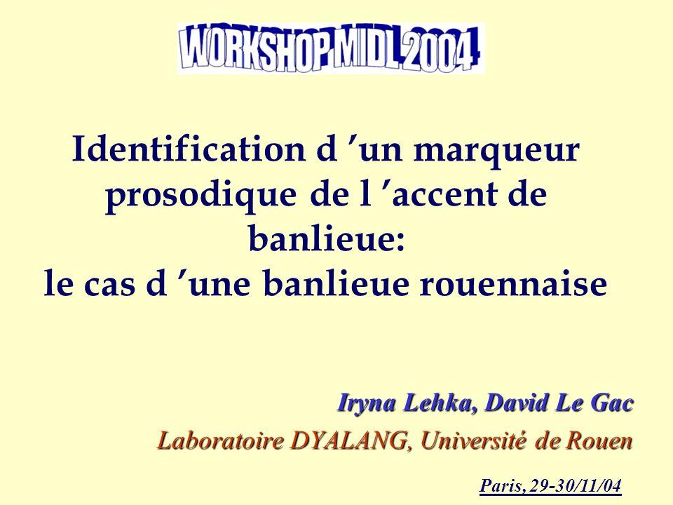 Iryna Lehka, David Le Gac Laboratoire DYALANG, Université de Rouen