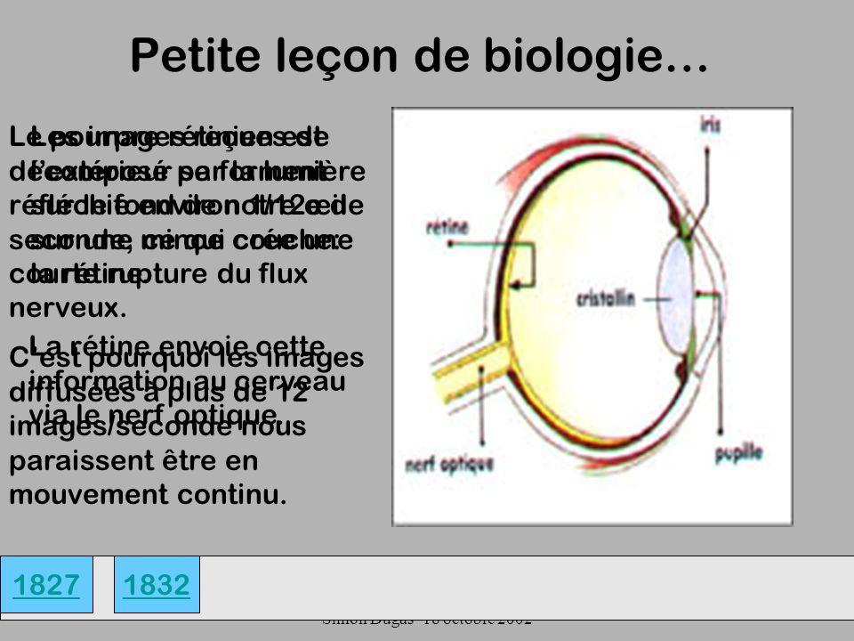 Petite leçon de biologie…