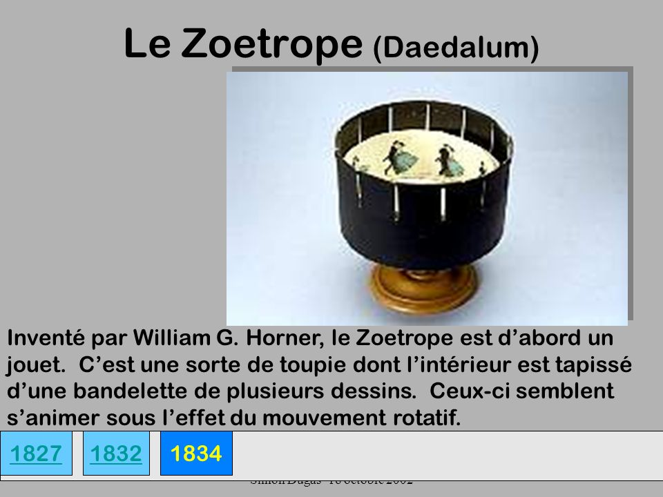 Le Zoetrope (Daedalum)