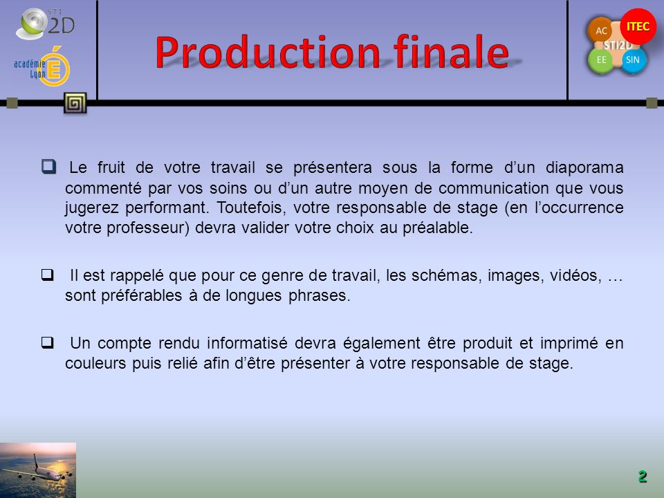 Production finale
