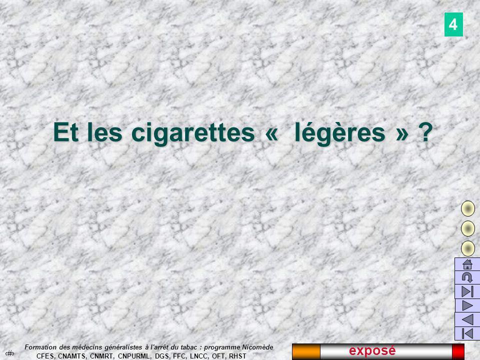 L évolution des ventes de tabac en France