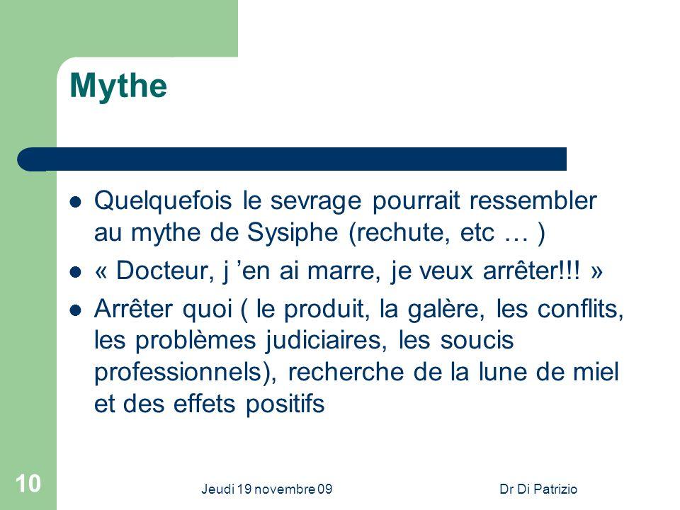 31/03/2017 Mythe. Quelquefois le sevrage pourrait ressembler au mythe de Sysiphe (rechute, etc … )