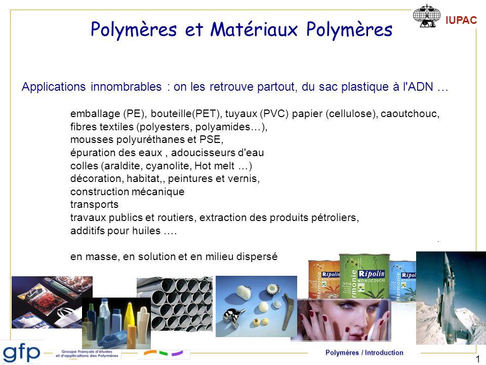 Polymères et Matériaux Polymères