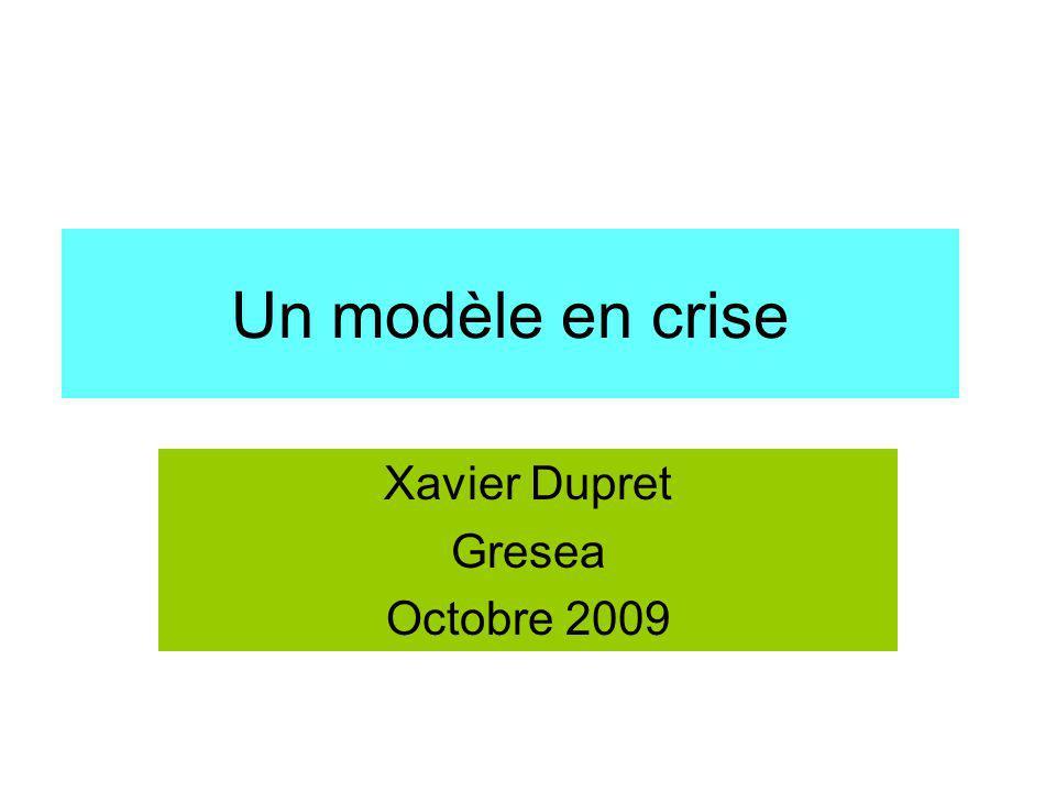 Xavier Dupret Gresea Octobre 2009