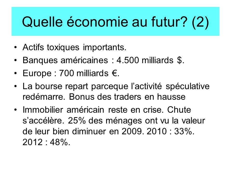 Quelle économie au futur (2)