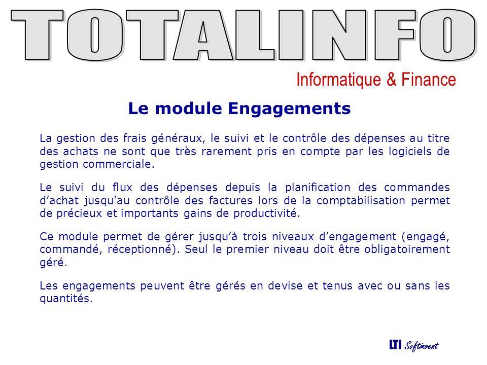Le module Engagements