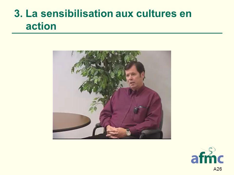 3. La sensibilisation aux cultures en action